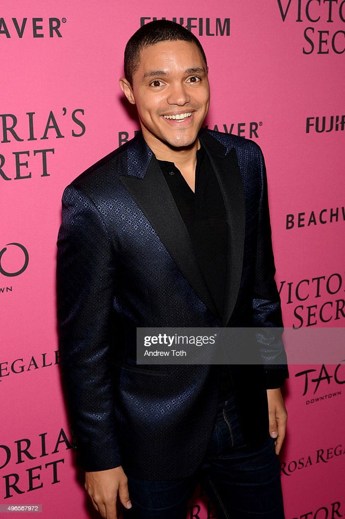 Trevor Noah attends the 2015 Victoria's Secret Fashion Show after party on November 10, 2015 in New York City.
