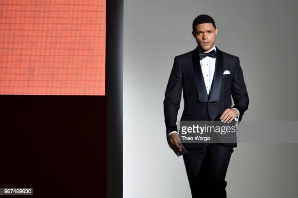 Trevor Noah attends the 2018 CFDA Fashion Awards at Brooklyn Museum on June 4 2018 in New York City