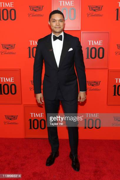 Trevor Noah attends the 2019 Time 100 Gala at Frederick P Rose Hall Jazz at Lincoln Center on April 23 2019 in New York City