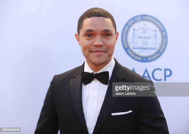 Trevor Noah attends the 48th NAACP Image Awards at Pasadena Civic Auditorium on February 11 2017 in Pasadena California