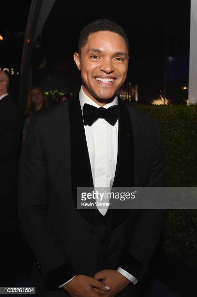 Trevor Noah attends the 70th Emmy Awards Governors Ball at Microsoft Theater on September 17 2018 in Los Angeles California