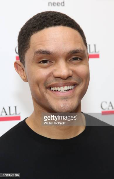 Trevor Noah attends The Children's Monologues at Carnegie Hall on November 13 2017 in New York City