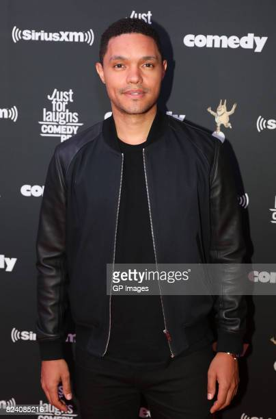 Trevor Noah attends the Just For Laughs Comedy Festival 2017 held at the Hyatt Regency on July 28 2017 in Montreal Canada