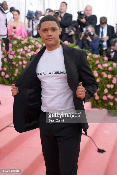 Trevor Noah attends The Metropolitan Museum Of Art's 2019 Costume Institute Benefit Camp Notes On Fashion at Metropolitan Museum of Art on May 6 2019...