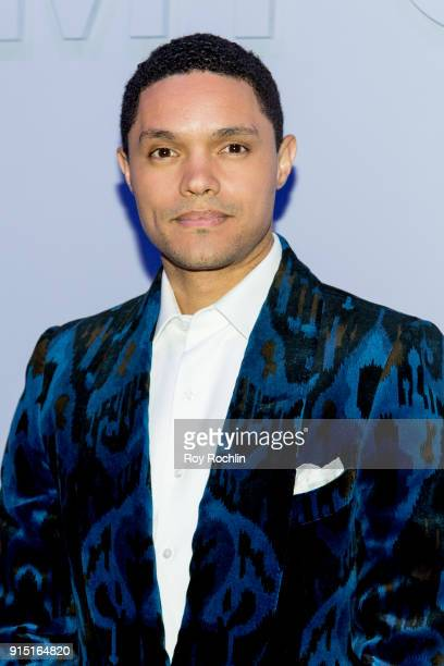 Trevor Noah attends the Tom Ford Fall/ Winter 2018 Men's Runway Show at Park Avenue Armory on February 6 2018 in New York City