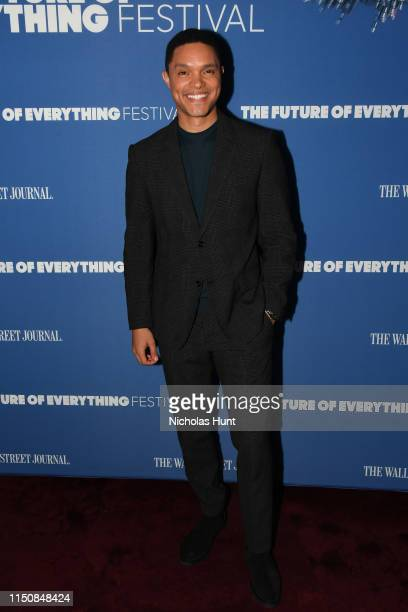 Trevor Noah attends The Wall Street Journal's Future Of Everything Festival at Spring Studios on May 21 2019 in New York City