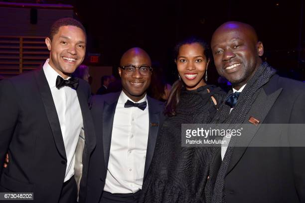 Trevor Noah Barry Jenkins Ashley ShawScott and David Adjaye attend the 2017 TIME 100 Gala at Jazz at Lincoln Center on April 25 2017 in New York City