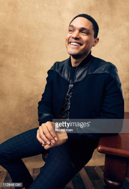 Trevor Noah of 'The Daily Show' poses for a portrait at the 2019 SXSW Film Festival Portrait Studio on March 9 2019 in Austin Texas