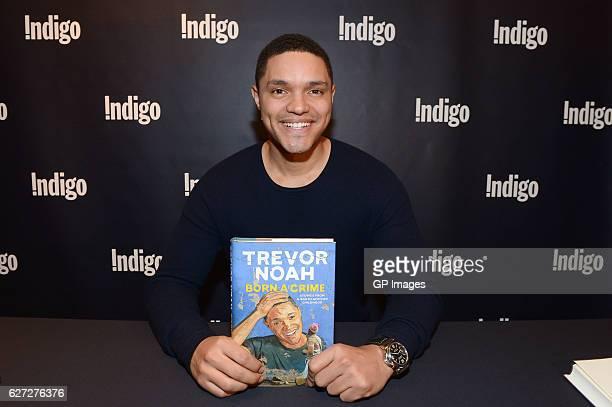 Trevor Noah signs copies of his new book 'Born A Crime' at Indigo Eaton Centre on December 2 2016 in Toronto Canada