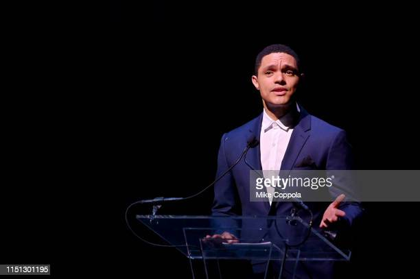 Trevor Noah speaks onstage during the 2019 SeriousFun Children's Network NYC Gala at Cipriani 42nd Street on May 23 2019 in New York City