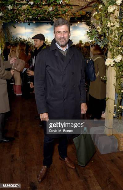 Trevor Pickett attends the opening of the new Bicester Village and the launch of the British Collective at Bicester Village on October 20 2017 in...