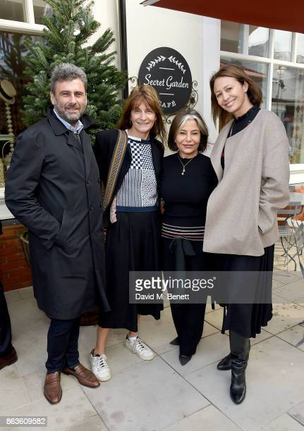 Trevor Pickett Victoria Stapleton Desiree Bollier and Caroline Rush at the opening of the new Bicester Village and the launch of the British...