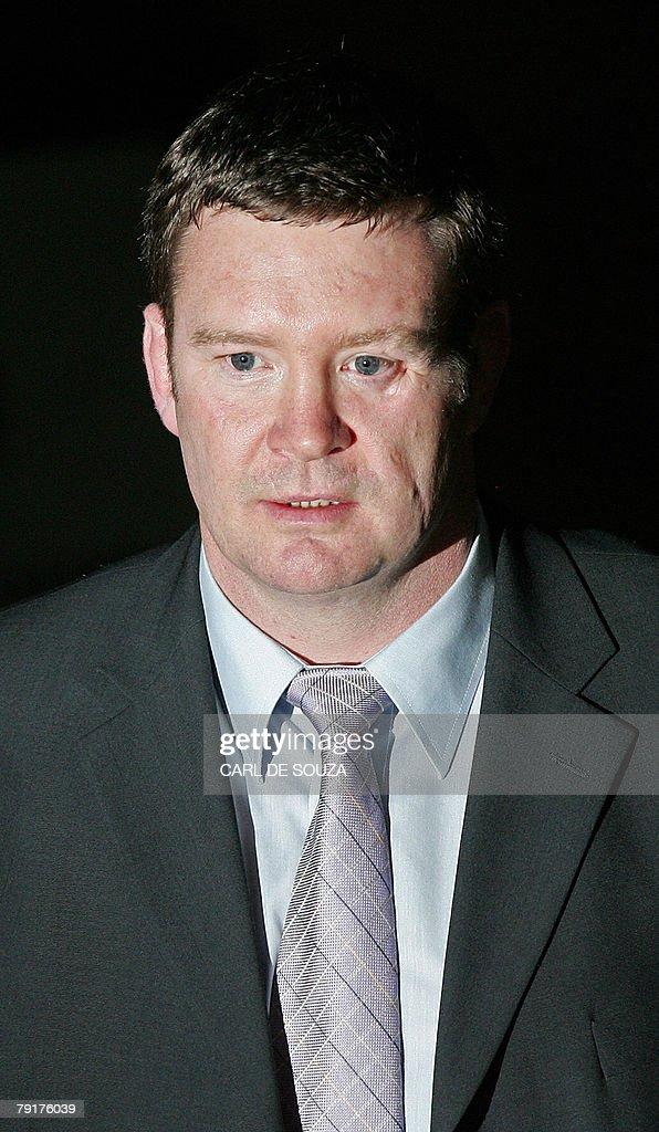 Trevor Rees, a former bodyguard of Dodi Fayed, poses for ...  Trevor Rees, a ...