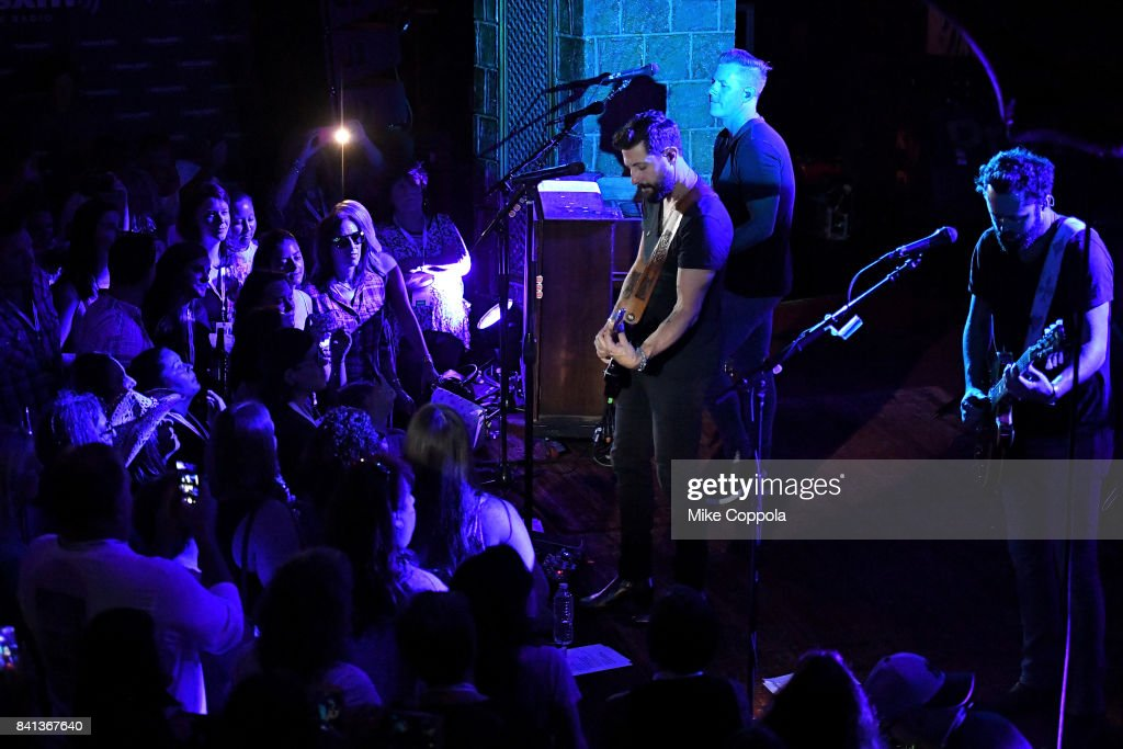 Old Dominion Performs Private Concert For SiriusXM At The Cutting Room In New York City; Performance Airs Live On SiriusXM : News Photo