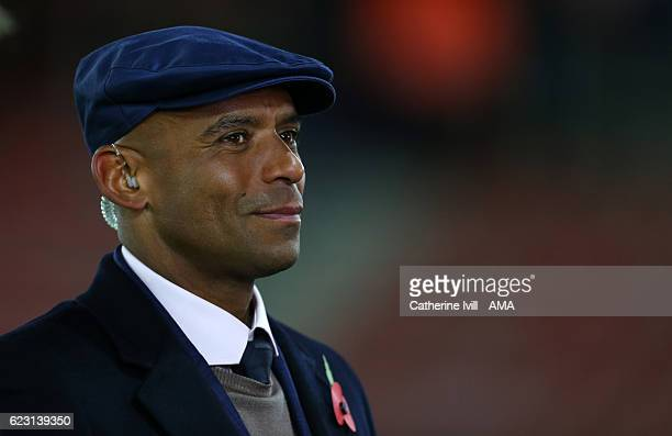 Trevor Sinclair during the U21 International Friendly match between England and Italy at St Mary's Stadium on November 10 2016 in Southampton England