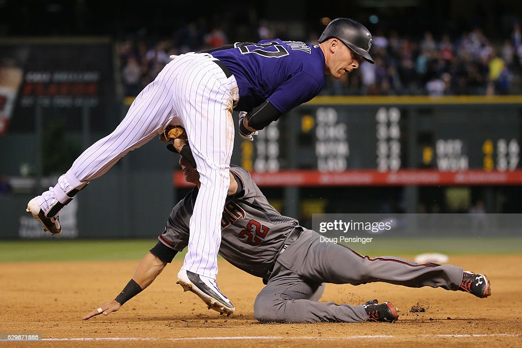 Arizona Diamondbacks v Colorado Rockies