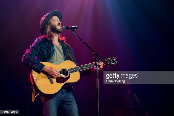 Trevor Terndrup of Moon Taxi performs during Dylan Fest at Ryman Auditorium on May 24 2017 in Nashville Tennessee