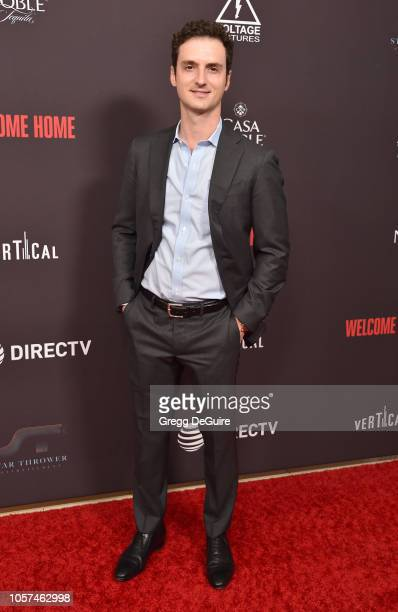 Trevor White arrives at the Welcome Home Premiere at The London West Hollywood on November 4 2018 in West Hollywood California