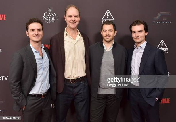 Trevor White George Ratliff Allan Mandelbaum and Tim White arrive at the Welcome Home Premiere at The London West Hollywood on November 4 2018 in...
