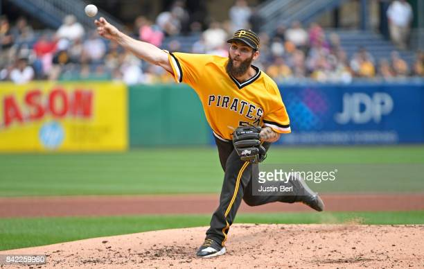 Trevor Williams of the Pittsburgh Pirates delivers a pitch in the fourth inning during the game against the Cincinnati Reds at PNC Park on September...