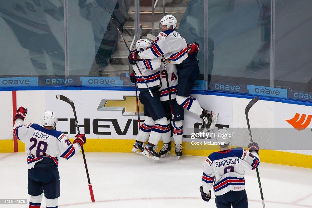 Canada v United States: Gold Medal Game - 2021 IIHF World Junior Championship : News Photo