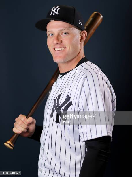 Trey Amburgey of the New York Yankees poses for a portrait during the New York Yankees Photo Day on February 21 2019 at George M Steinbrenner Field...