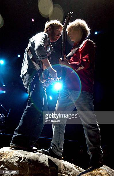 Trey Anastasio and Mike Gordon of Phish