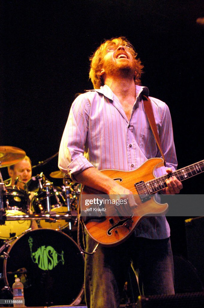 Trey Anastasio during Phish IT Festival Day 2 at Loring Airforce Base in Limestone, Maine, United States.