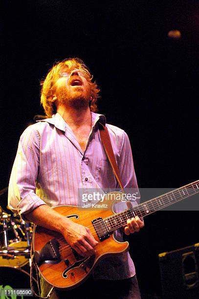 Trey Anastasio during Phish IT Festival Day 2 at Loring Airforce Base in Limestone Maine United States