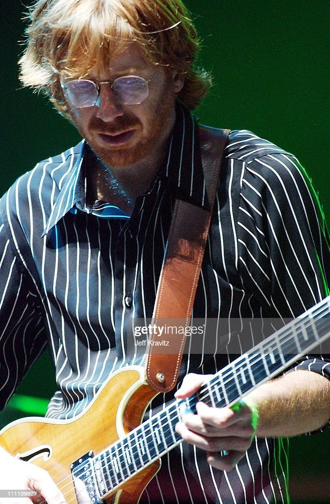 Trey Anastasio during Phish Live in New Jersey at Continental Airlines Arena in Secaucus, New Jersey, United States.