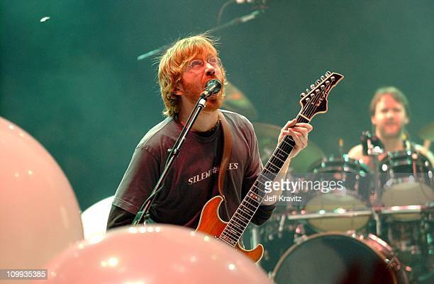 Trey Anastasio during Phish New Years Eve Concert at Madison Square Garden in New York City New York United States