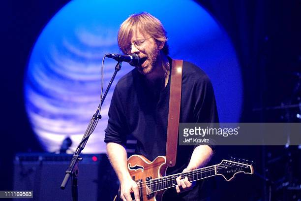 Trey Anastasio during Trey Anastasio Closing Night of Concert Tour at the Wiltern in Los Angeles December 8 2005 at Wiltern LG Theater in Los Angeles...