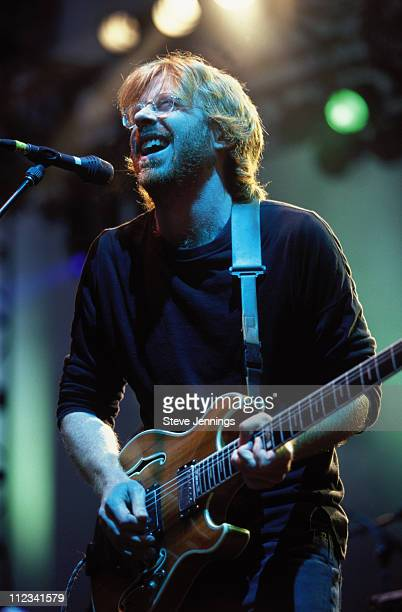Trey Anastasio during Trey Anastasio in Concert July 14 2001 at Greek Theater in Berkeley California United States
