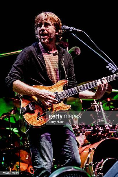 Trey Anastasio is performing with 'Phish' at the Dick's Sporting Goods Park in Commerce City Colorado on August 31 2012