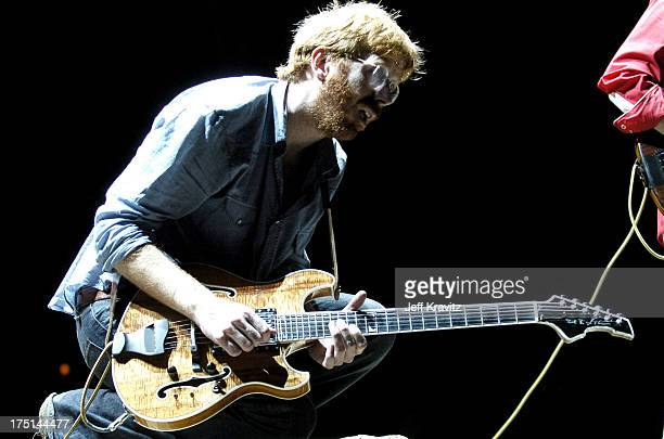 Trey Anastasio of Phish during Phish Coventry Festival 2004 - Day 1 at Coventry in Newport, Vermont, United States.