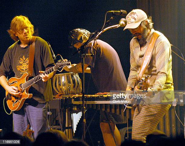 Trey Anastasio of Phish Mike Dillon and Les Claypool