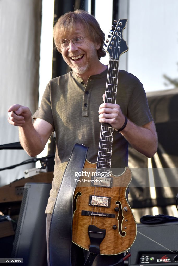Phish Performs At Tahoe Outdoor Arena