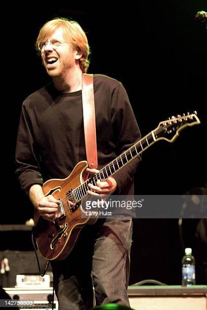Trey Anastasio performing at the Vegoose Festival at Sam Boyd Stadium in Las Vegas Nevada on October 29 2005
