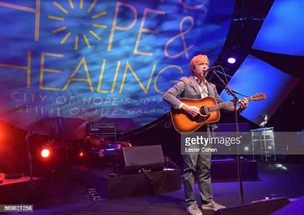 Trey Anastasio performs at MFEI Spirit Of Life Honoring Coran Capshaw on November 2 2017 in Santa Monica California