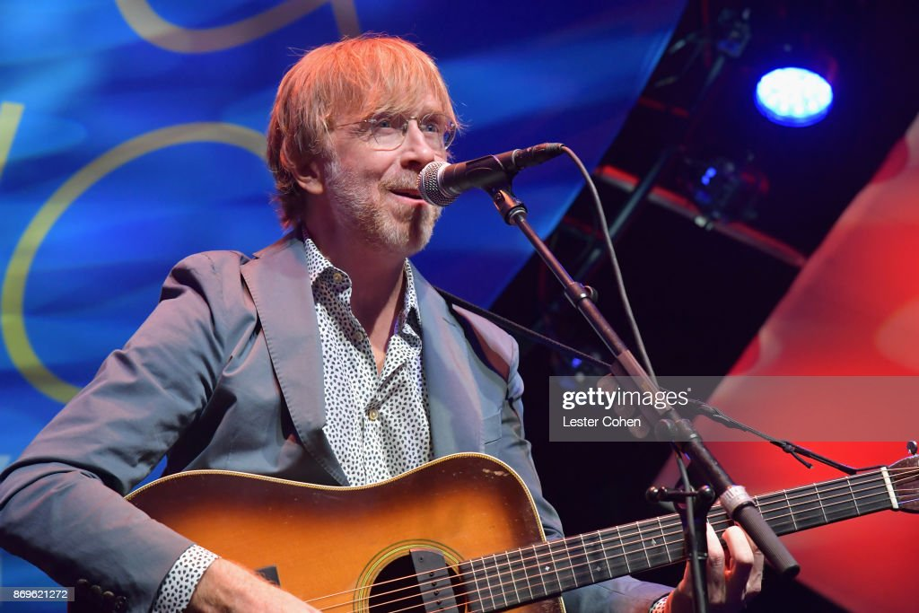 Trey Anastasio performs at MFEI Spirit Of Life Honoring Coran Capshaw on November 2, 2017 in Santa Monica, California.