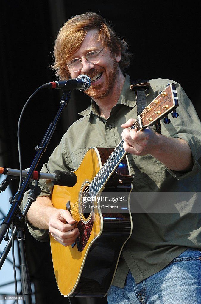 Trey Anastasio performs at The Odeum during Rothbury 2008 on July 6, 2008 in Rothbury, Michigan.