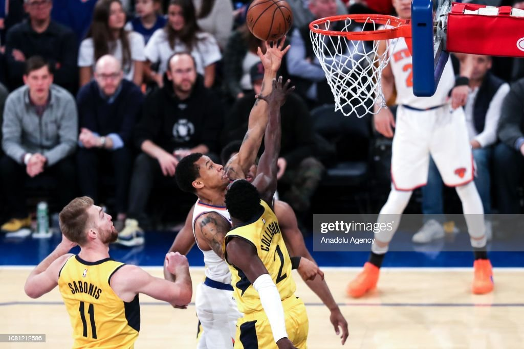 NBA: Indiana Pacers vs New York Knicks : News Photo
