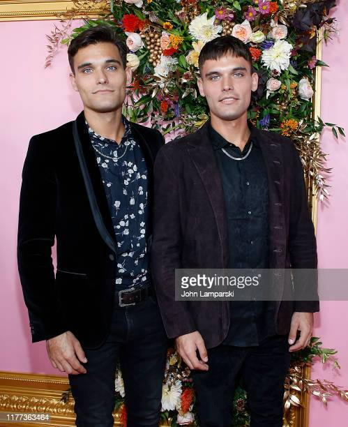 """Trey Eason and Trevor Eason attend """"The Politician"""" New York Premiere at DGA Theater on September 26, 2019 in New York City."""