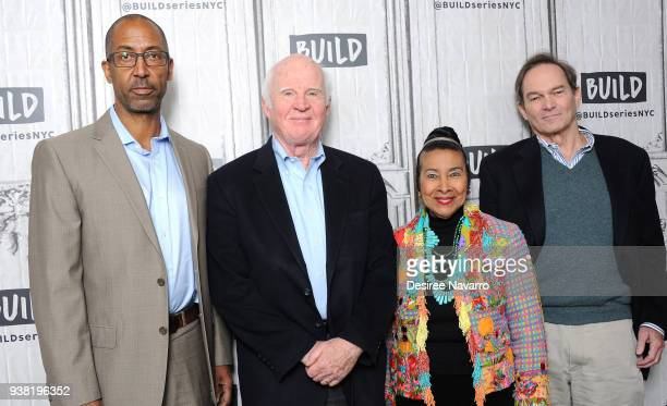 Trey Ellis Taylor Branch Xernona Clayton and Peter Kunhardt attend Build Series to discuss ' King In The Wilderness' at Build Studio on March 26 2018...