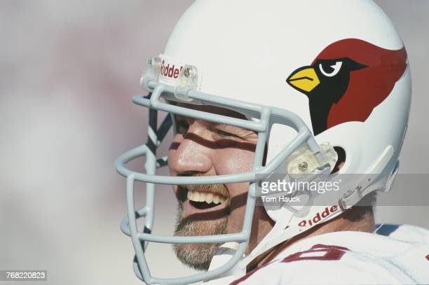 Trey Junkin Linebacker for the Arizona Cardinals during the National Football Conference East game against the New England Patriots on 31 October...