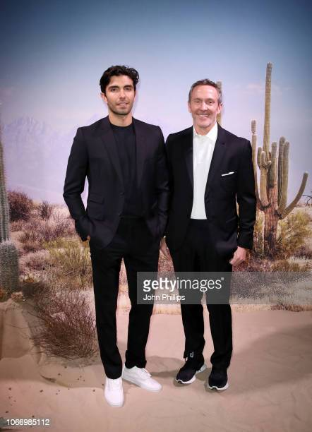 Trey Laird and Akin Akman attend the gala dinner in honour of Stella McCartney winner of the Global VOICES Award for 2018 during #BoFVOICES on...