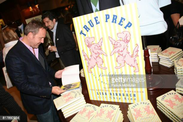 Trey Laird attends The launch of 'True Prep' at Brooks Brothers on September 14 2010 in New York