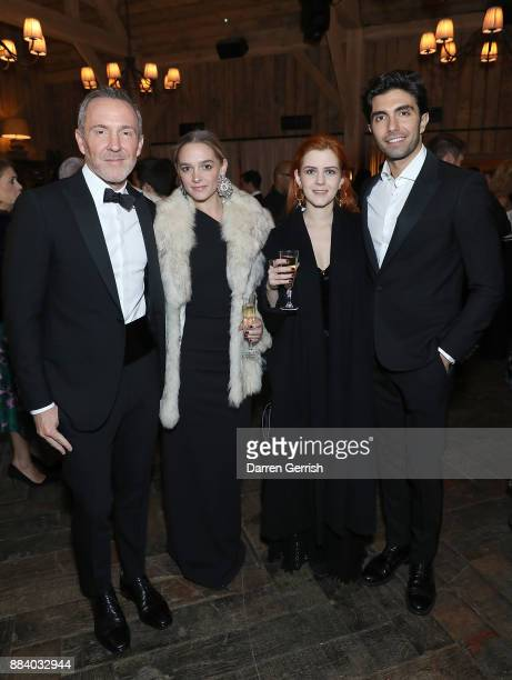 Trey Laird Tara Le Roux Esther KinnearDerungs and Akin Akman attend the gala dinner during #BoFVOICES on December 1 2017 in Oxfordshire England
