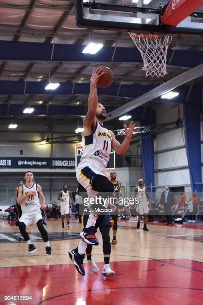 Trey McKinneyJones of the Fort Wayne Mad Ants handles the ball during the NBA GLeague Showcase Game 23 between the Salt Lake City Stars and the Fort...