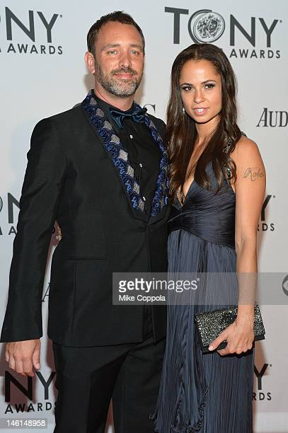 Trey Parker and Boogie Tillmon attend the 66th Annual Tony Awards at The Beacon Theatre on June 10, 2012 in New York City.